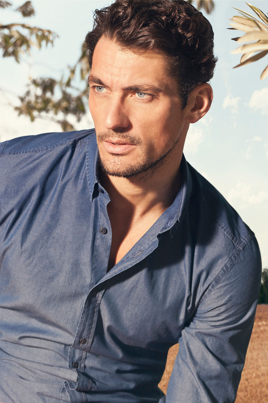 David Gandy for Massimo Dutti February 2013