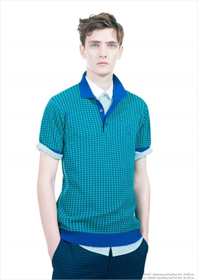 Yannick Abrath for Raf Simons × Fred Perry Spring Summer 2013