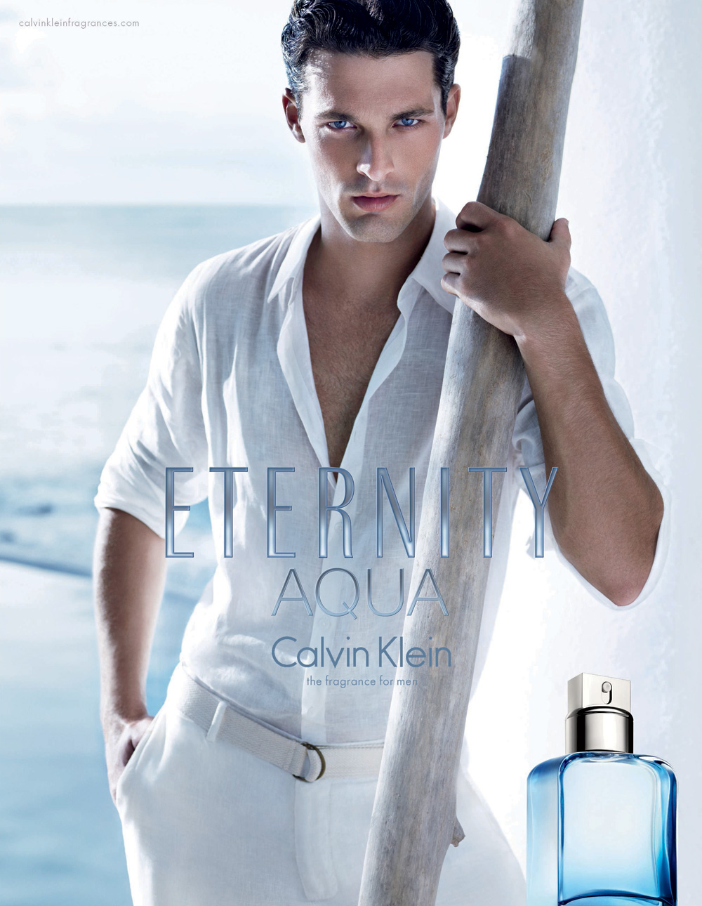 Ben Hill & Edita Vilkeviciute for Calvin Klein Eternity Aqua