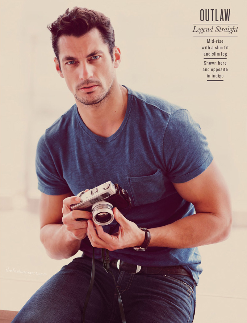 David Gandy for Lucky Brand Fall 2012