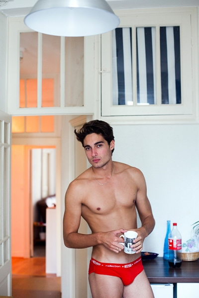 Picture About Male Model Gabin Captured by Sylvain Norget