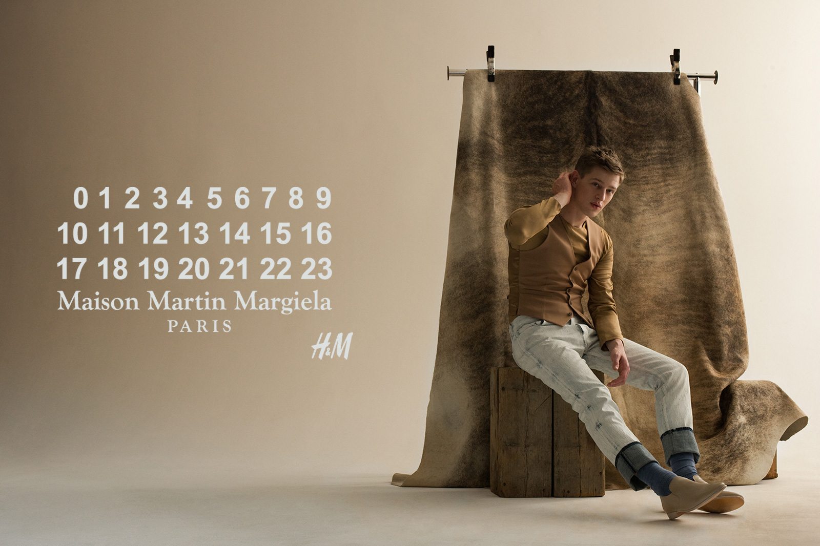 Adam merks for h m 39 s maison martin margiela 2012 for for Maison martin margiela