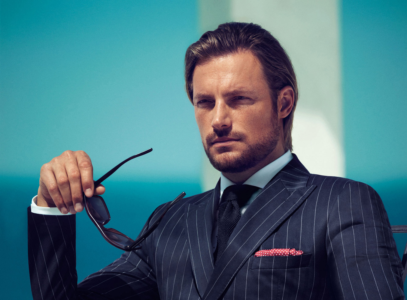 Gabriel Aubry for Boss Black Spring 2013