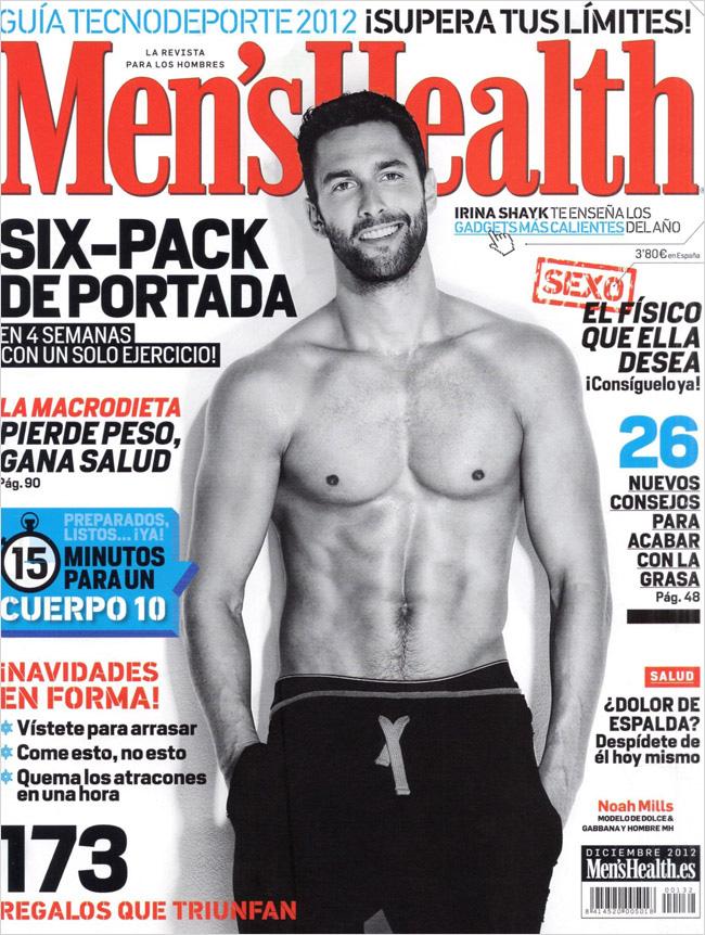 Noah Mills for Men's... Ryan Lochte Mens Health