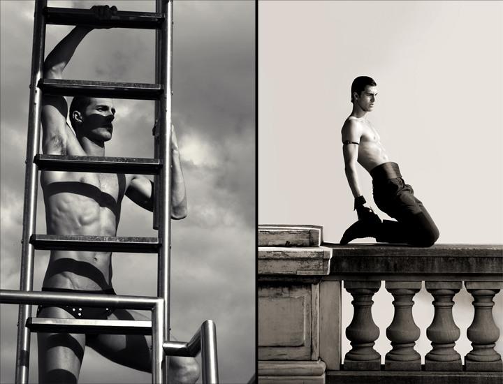 Clint Mauro by Santiago Sierra