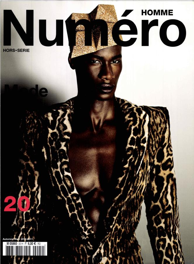 David Agbodji by Matthias Vriens for Numero Homme