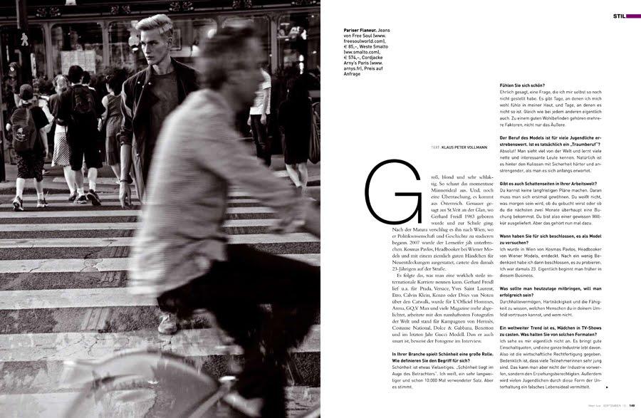 Gerhard Freidl for Wien Live Magazine