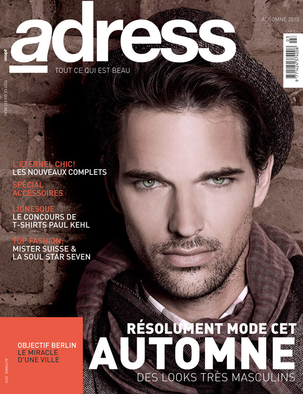 Michael Gstoettner Covers Adress Magazine