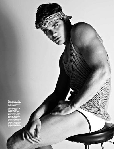 Ryan Bertroche Attitude Magazine