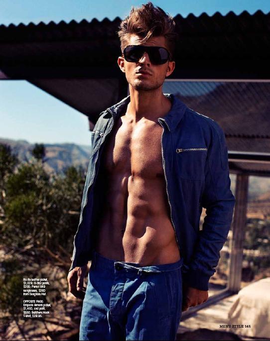 Tyson Paige for Men's Style Australia