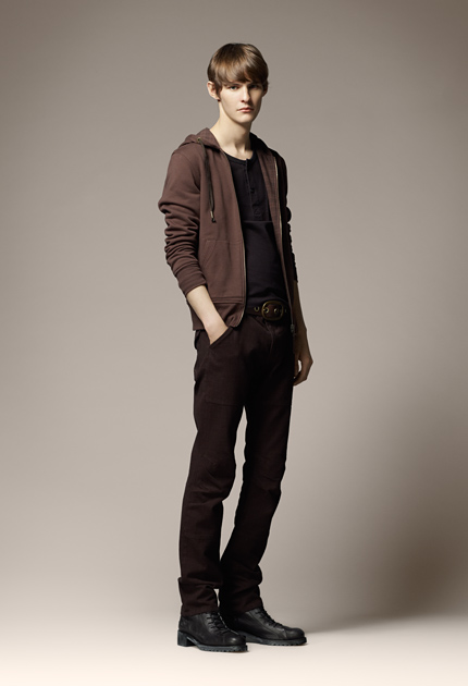 Aaron Wrigley for Burberry Blue Label