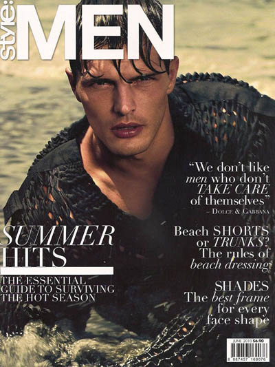 Fashion Magazines on Diego Miguel For Style  Men Magazine