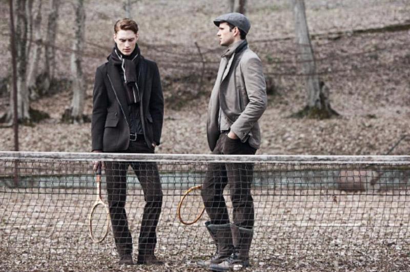 Gordon Bothe & Terron Wood for Corneliani Fall Winter 2010