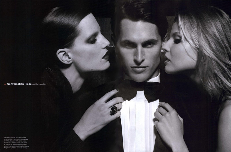 Numero Homme by Karl Lagerfeld