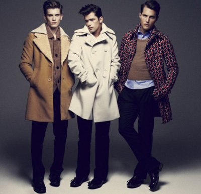 Sean O'Pry, Ollie Edwards & William Eustace by Dusan Reljin