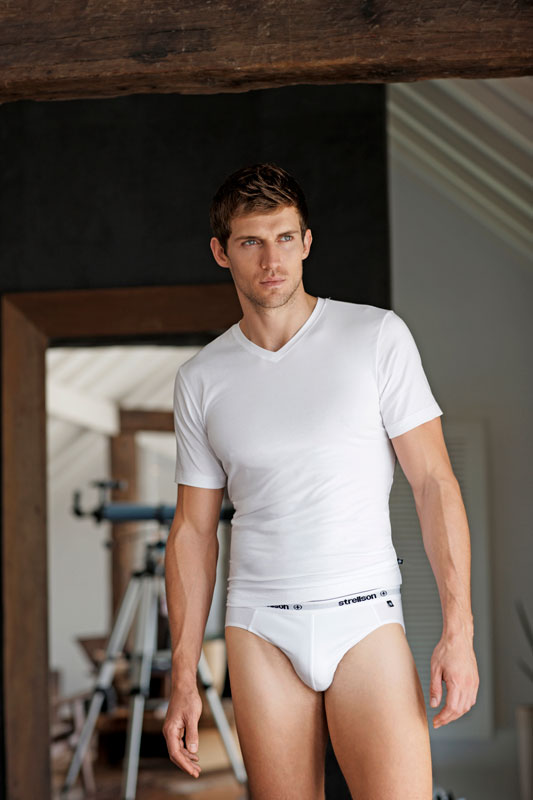 Andrew cooper for louis sayn underwear for Domon men s underwear