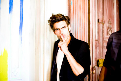 Behind the scenes with Spanish Basque supermodel Jon Kortajarena during his ...