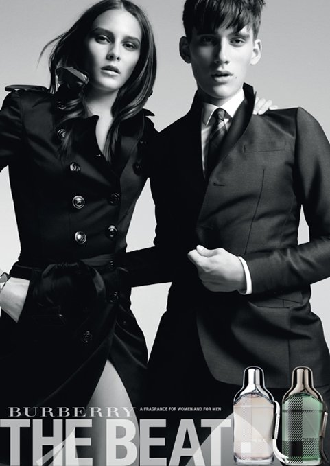 Sebastian Brice and Charlotte Wiggins for Burberry
