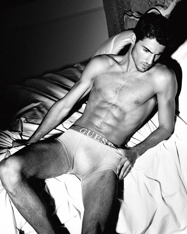 Men's Underwear Model