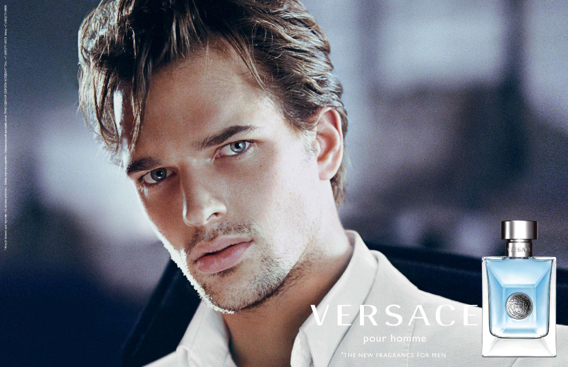 Next Company's Michael Gstoettner is the strking face of Versace's ...