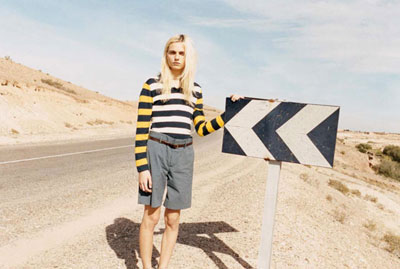 Andrej Pejic for Marc by Marc Jacobs