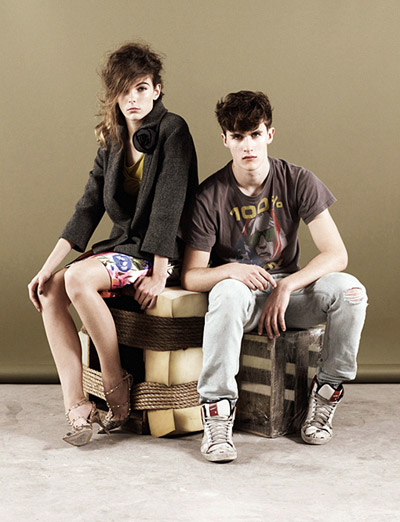 Luka Badnjar & Hannah Noble by Ben Toms