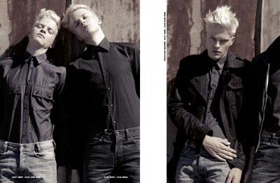 Joerd and Jochen Peroutika by Philipp Jelenska