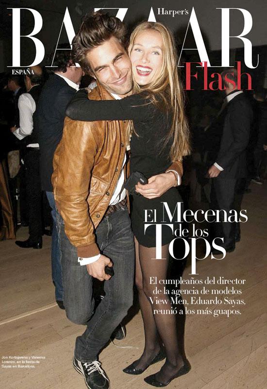 Jon Kortajarena & Vanessa Lorenzo for Harper's Bazaar Spain
