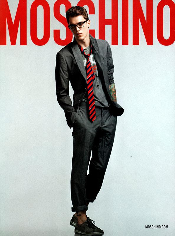 Josh Beech for Moschino