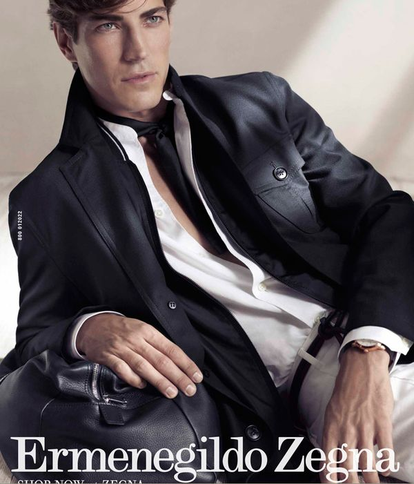 Oriol Elcacho for Ermenegildo Zegna Spring-Summer 2011