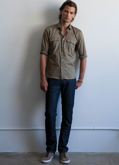 Taylor Fuchs for Simon Spurr Spring Summer 2011