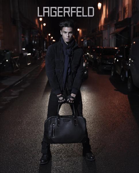 Baptiste Giabiconi Karl Lagerfeld