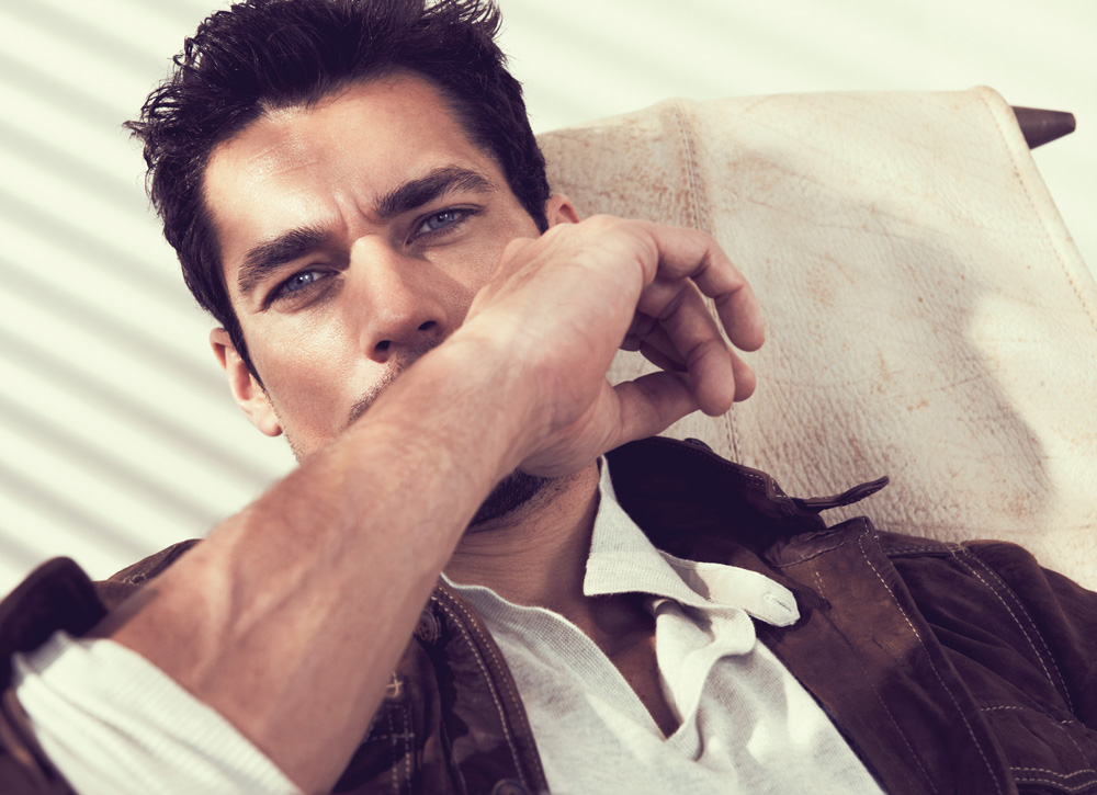 david gandy model. David Gandy for Massimo Dutti