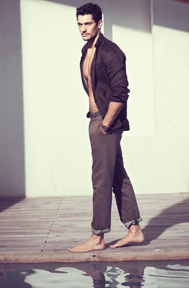 David Gandy for Massimo Dutti Spring Summer 2011