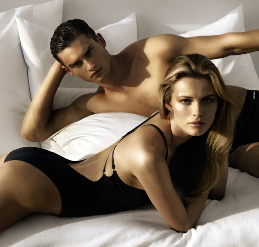 Top models Vladimir Ivanov and Edita Vilkeviciute team up once again ...