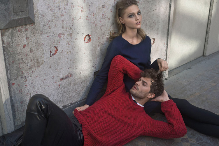 Personnes notables Jamie Dornan & Sasha Pivovarova for Hugo by Hugo Boss Fall Winter  UG23
