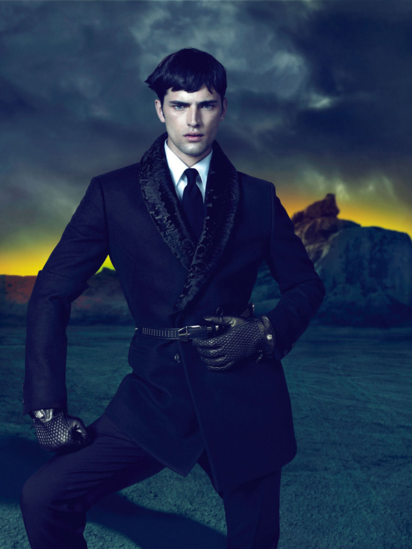 Sean O'Pry for Versace Fall Winter 2011.12