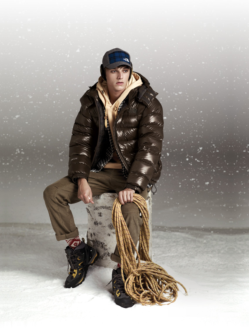 Robbie Wadge for North Face Fall Winter 2011.12