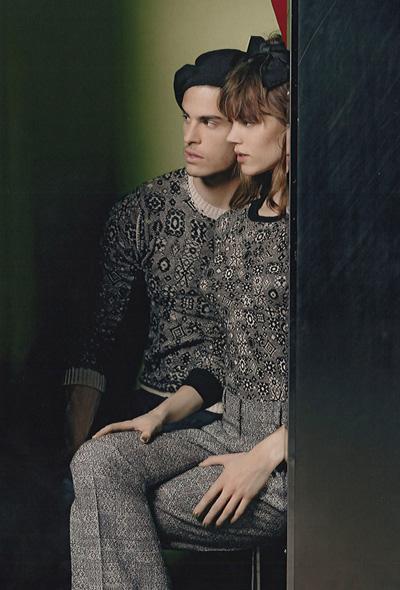 503b41e8cfbd Baptiste Giabiconi   Freja Beha for Chanel Fall Winter 2011.12