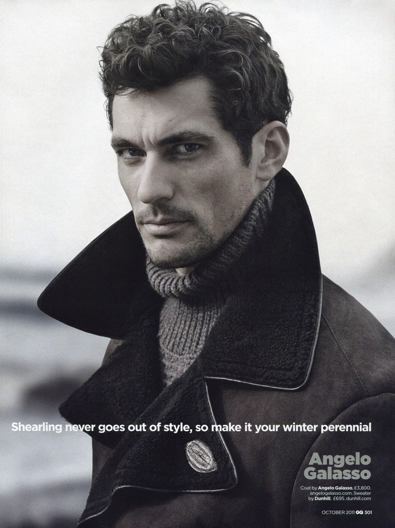 David Gandy for GQ UK