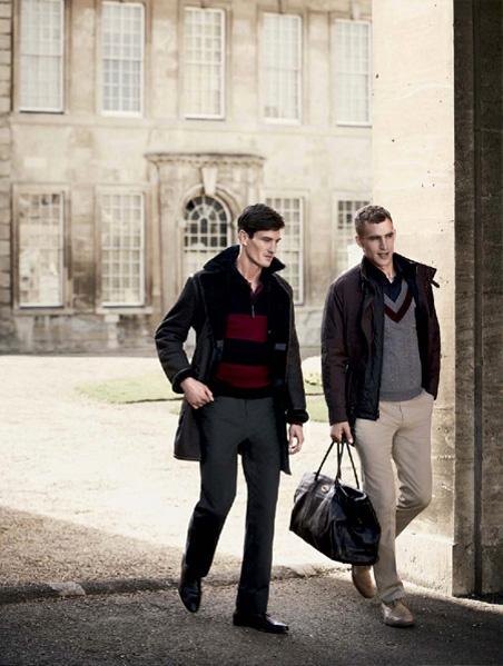 Owen Steuart & Will Chalker for Kent & Curwen Fall Winter ...
