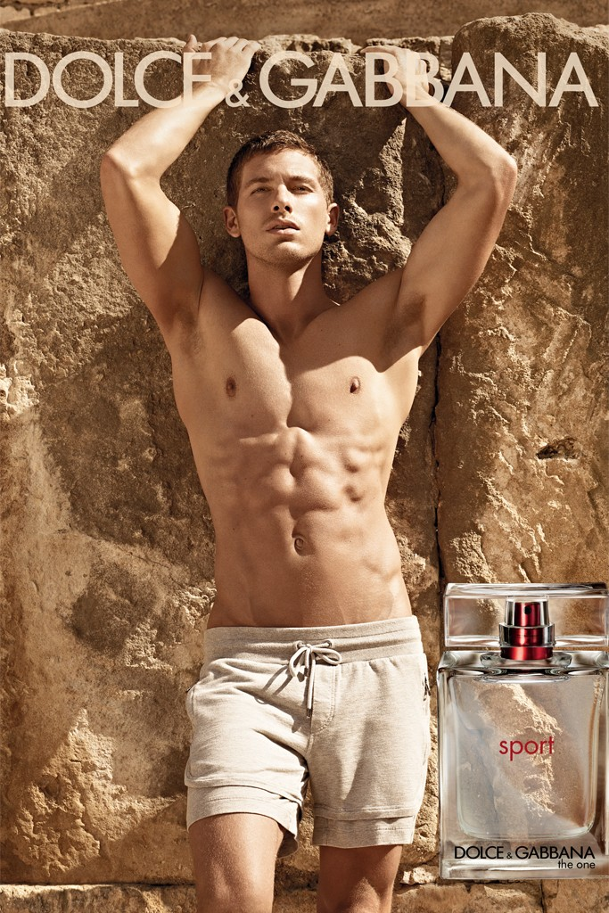 dolce gabbana the one for men sport male models picture