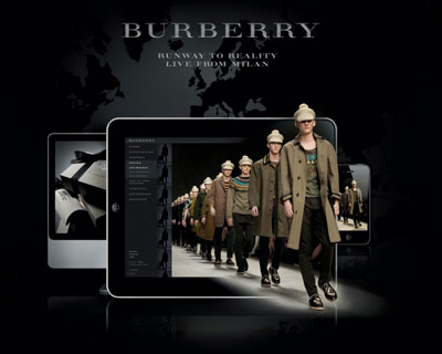 bf7f7e8c33e Website: www.burberry.com. Burberry takes its menswear Prorsum show in  Milan this Saturday live from runway to reality, ...