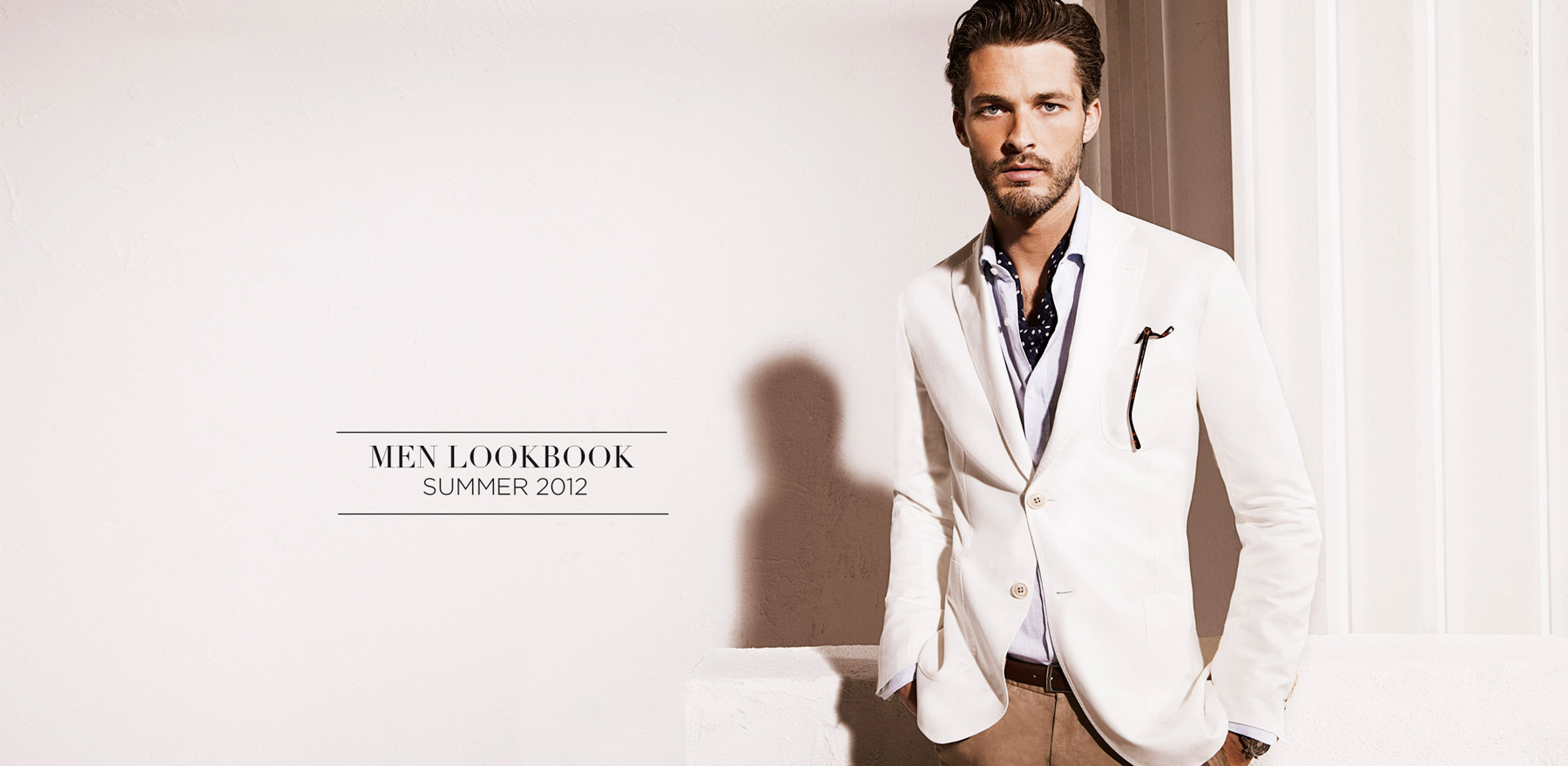 Ben Hill For Massimo Dutti May 2012
