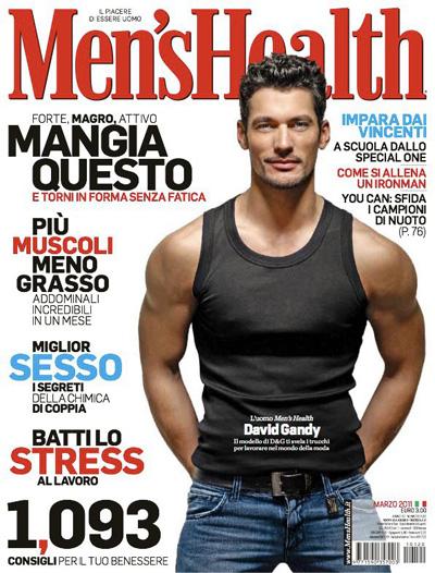 Mens Health Magazine President Barack Obama Instant Energy: David Gandy For Men's Health Italia March 2011