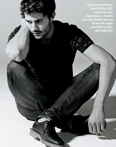 Jamie Dornan For Shortlist Mode