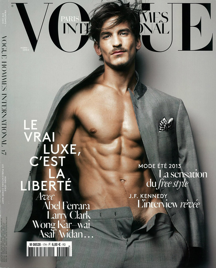 Jarrod Scott For Vogue Hommes International