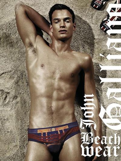 John Galliano Underwear Tim Ruger By Robbie Fimmano