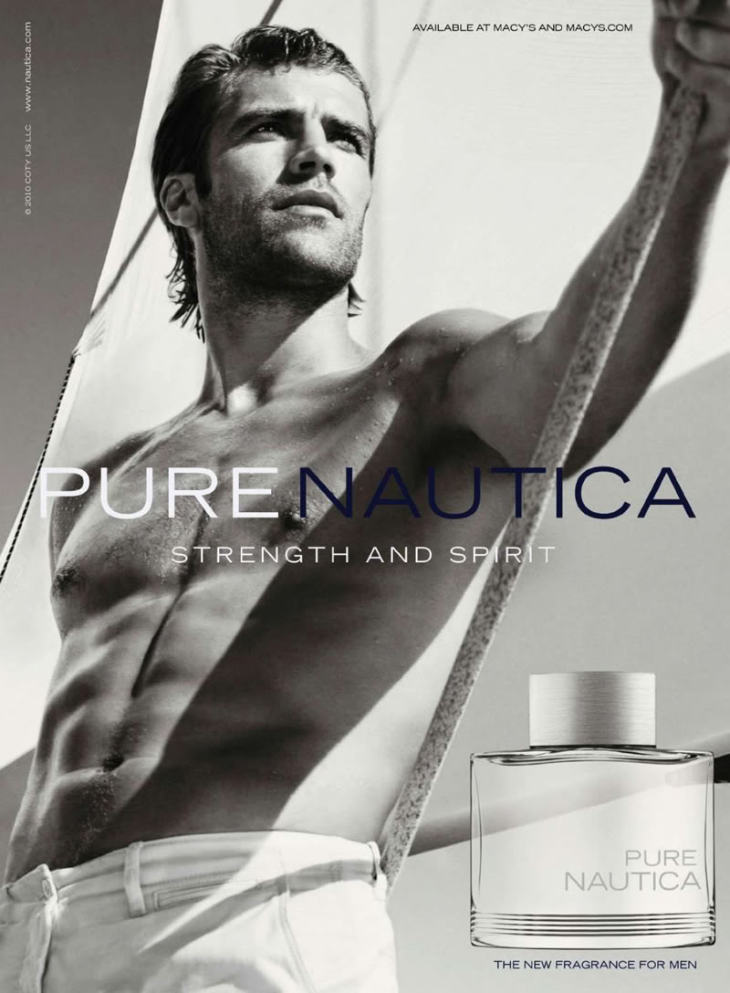 Fragrance advert featuring Male Advertisements In Magazines