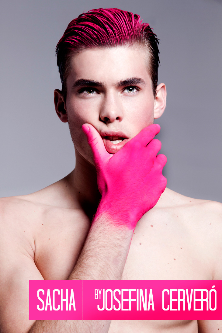 Sacha Mauz by Josefina Cerveró for Male Model Scene